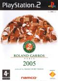 Roland Garros 2005: Powered by Smash Court Tennis PlayStation 2 Front Cover