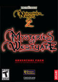 Neverwinter Nights 2: Mysteries of Westgate Windows Front Cover