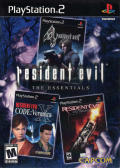 Resident Evil: The Essentials PlayStation 2 Front Cover
