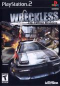 Wreckless: The Yakuza Missions PlayStation 2 Front Cover