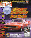 Burnout: Championship Drag Racing - Player's Choice Edition DOS Front Cover