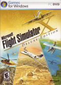 Microsoft Flight Simulator X (Deluxe Edition) Windows Front Cover