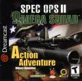 Spec Ops II: Omega Squad Dreamcast Front Cover