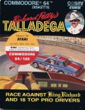 Richard Petty's Talladega Atari 8-bit Front Cover