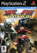 MX vs. ATV: Untamed PlayStation 2 Front Cover
