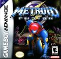 Metroid Fusion Game Boy Advance Front Cover