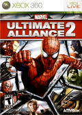 Marvel Ultimate Alliance 2 Xbox 360 Front Cover