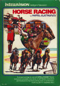 Horse Racing Intellivision Front Cover