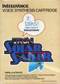 TRON: Solar Sailer Intellivision Front Cover