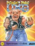 Psycho Pigs UXB ZX Spectrum Front Cover