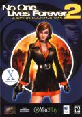 No One Lives Forever 2: A Spy in H.A.R.M.'s Way Macintosh Front Cover