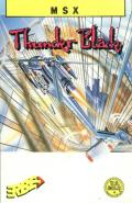 ThunderBlade MSX Front Cover