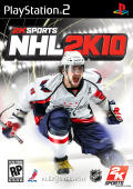 NHL 2K10 PlayStation 2 Front Cover