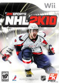 NHL 2K10 Wii Front Cover