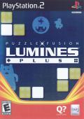 Lumines: Puzzle Fusion PlayStation 2 Front Cover