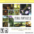 Final Fantasy XI Online Starter Pack Windows Front Cover