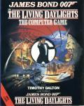 James Bond 007 in The Living Daylights: The Computer Game MSX Front Cover