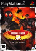Special Forces: Nemesis Strike PlayStation 2 Front Cover