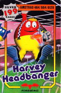 Harvey Headbanger Amstrad CPC Front Cover