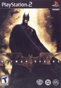 Batman Begins PlayStation 2 Front Cover
