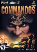 Commandos 2: Men of Courage PlayStation 2 Front Cover
