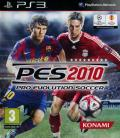 PES 2010: Pro Evolution Soccer PlayStation 3 Front Cover