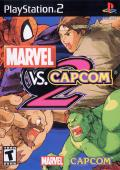 Marvel vs. Capcom 2 PlayStation 2 Front Cover