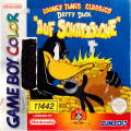 "Daffy Duck: ""Fowl Play"" Game Boy Color Front Cover"