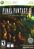 Final Fantasy XI Online: Ultimate Collection Xbox 360 Front Cover