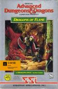 Dragons of Flame Commodore 64 Front Cover