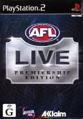 AFL Live: Premiership Edition PlayStation 2 Front Cover