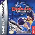 Beyblade VForce: Ultimate Blader Jam Game Boy Advance Front Cover