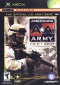 America's Army: Rise of a Soldier Xbox Front Cover