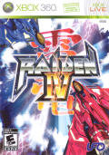 Raiden IV Xbox 360 Front Cover