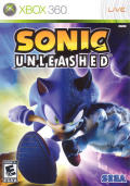 Sonic: Unleashed Xbox 360 Front Cover