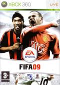 FIFA Soccer 09 Xbox 360 Front Cover