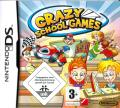 Crazy School Games Nintendo DS Front Cover