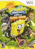 SpongeBob SquarePants Featuring Nicktoons: Globs of Doom Wii Front Cover