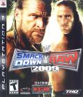 WWE Smackdown vs. Raw 2009 PlayStation 3 Front Cover