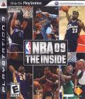 NBA 09: The Inside PlayStation 3 Front Cover