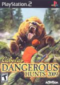Cabela's Dangerous Hunts 2009 PlayStation 2 Front Cover