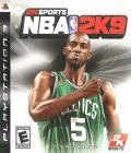 NBA 2K9 PlayStation 3 Front Cover