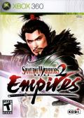 Samurai Warriors 2: Empires Xbox 360 Front Cover