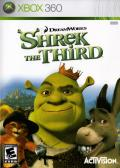 Shrek the Third Xbox 360 Front Cover
