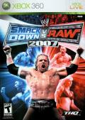 WWE SmackDown vs. Raw 2007 Xbox 360 Front Cover