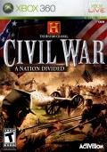 The History Channel: Civil War - A Nation Divided Xbox 360 Front Cover