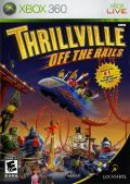 Thrillville: Off the Rails Xbox 360 Front Cover