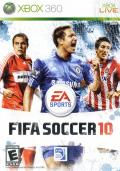 FIFA Soccer 10 Xbox 360 Front Cover