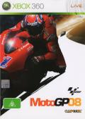 MotoGP 08 Xbox 360 Front Cover