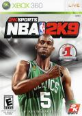 NBA 2K9 Xbox 360 Front Cover